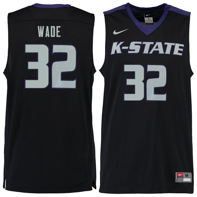 Men #32 Dean Wade Kansas State Wildcats College Basketball Jerseys Sale-Black